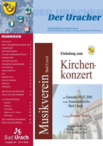 Der Uracher KW 48-2018