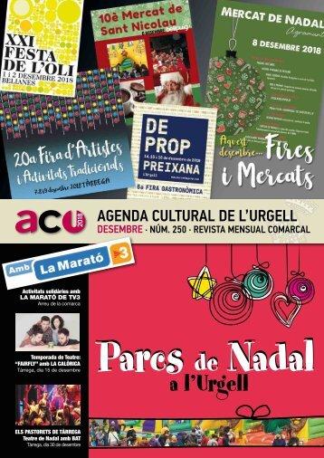 Agenda desembre 18