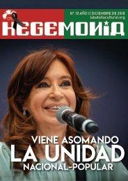 Revista Hegemonía. Año I Nº. 10