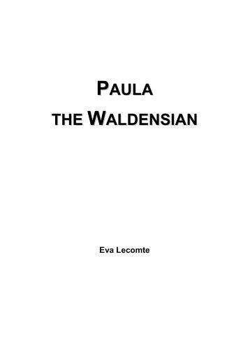 Paula the Waldensian - Eva Lecomte