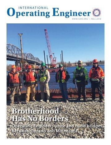International Operating Engineer - Fall 2018