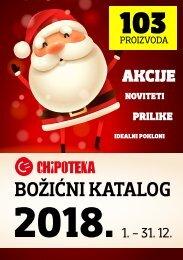 Chipoteka Božićni katalog 2018.