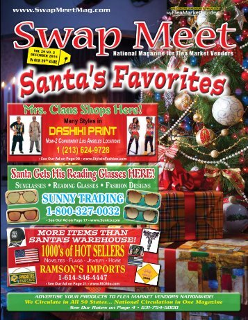 Swap Meet eMagazine Dec. 2018