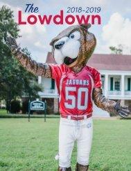 University of South Alabama 2018-2019 Lowdown