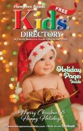 Hampton Roads Kids' Directory December 2018