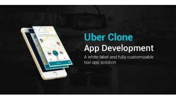 Uber Like Online Taxi Booking App