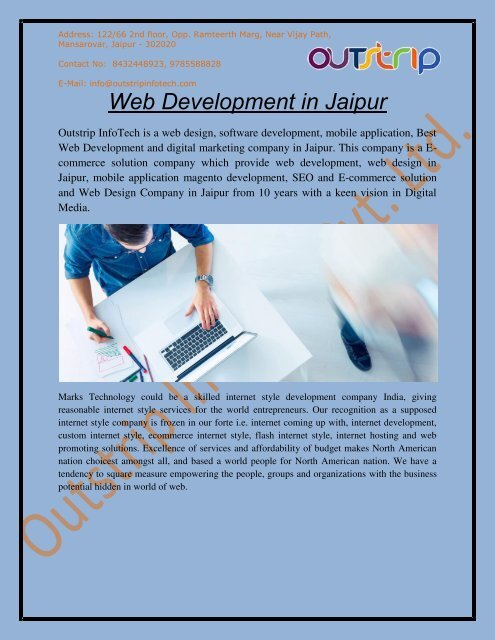 Best Web Development Company in Jaipur, India, and USA