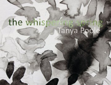 Tanya Poole, The Whispering Spring