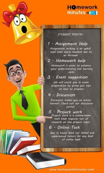 Homework Minutes: Online Assignment Help and Tutoring Services