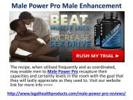 Male Power Pro Male Enhancement