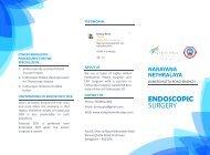 Endoscopic DCR brochure