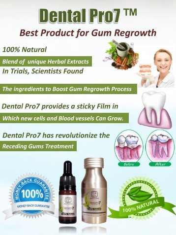 Products for Gum Regrowth