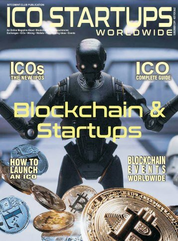 ICO Startups Magazine - Launch issue 2018