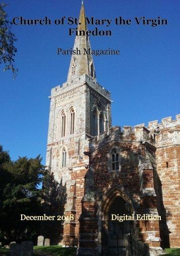 St Mary's December 2018 Parish Magazine