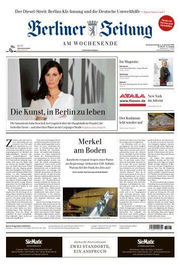 Berliner Zeitung 01.12.2018