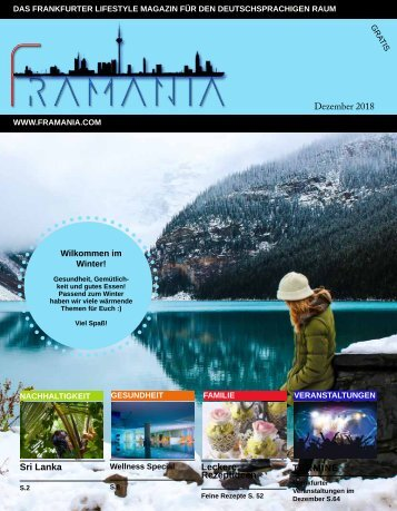 Framania Magazin Ausgabe Dezember 2018