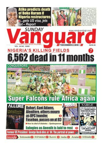 02122018 - 6,562 dead in 11 months