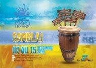 Programme du festival Tanbou Lezans 2018