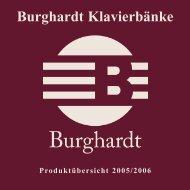 Burghardt Klavierbänke eK Inh. Uwe Born - bei Burghardt ...