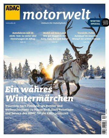 ADAC Motorwelt Dezember 2018