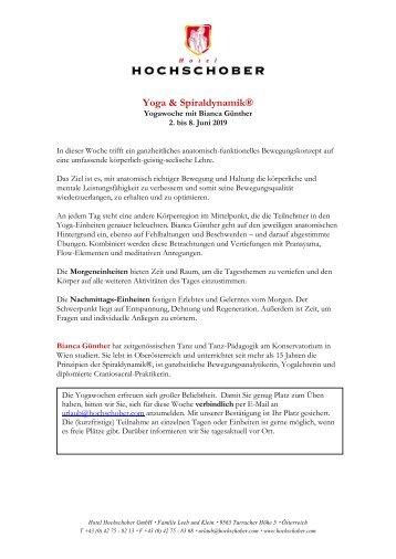 HS Programm Bianca Günther_Yoga 2019