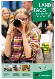 Landtagskurier, Ausgabe 8/2018