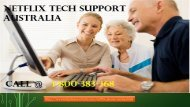 Netflix Support 1-800-383-368 Number Australia-For Quick and Reliable Solution