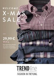 TRENDline Casa Moda X-Mas Sale