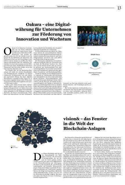 Zukunft Banking: Best-of Swiss Fintech