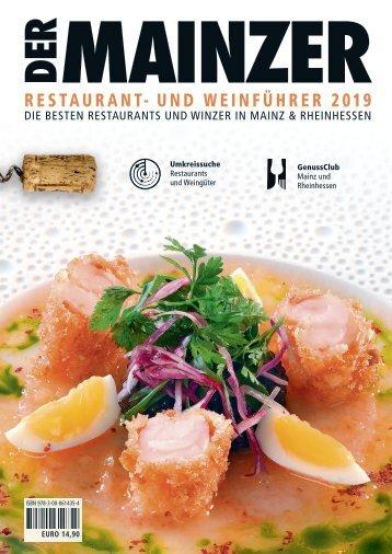 DER MAINZER Restaurant- und Weinführer 2019