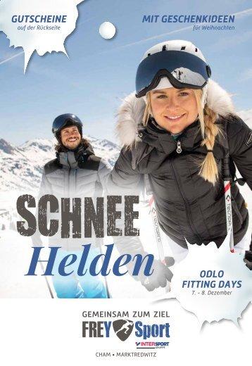 FREY Sport - Schnee Helden-Prospekt 2018