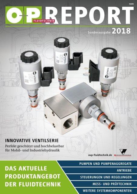 O+P Fluidtechnik REPORT 2018