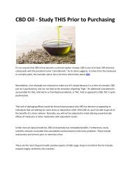6 High Strength CBD Oil