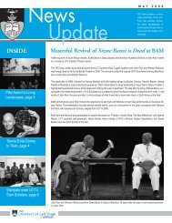 UCT News Update Update