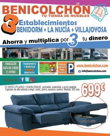 NUEVAS OFERTAS BENICOLCHON