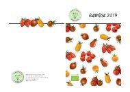 Gemüse Katalog 2019
