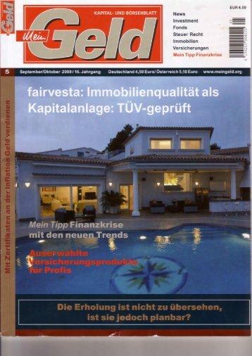 News lnvestment Fonds Steuer Recht lmmobilien Versicherungen ...