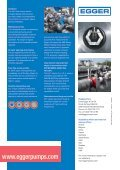 Egger Iris Diaphragm Control valve for stable, linear and reliable flow control of aeration tanks - Page 4