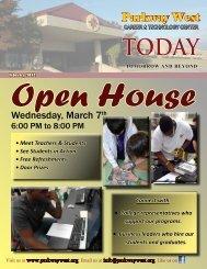 February 2012 ~ Open House - Mercer County Career Center