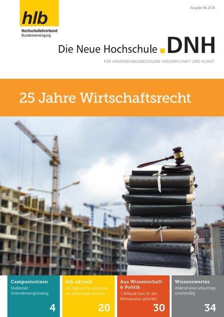 Die Neue Hochschule Heft 6/2018