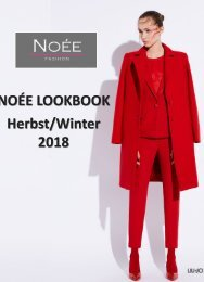 NOÉE Lookbook Winter 2018