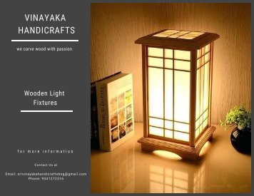 Vinayaka - Lamp Fixtures