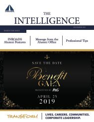 INROADS THE INTELLIGENCE - December 2018 Issue