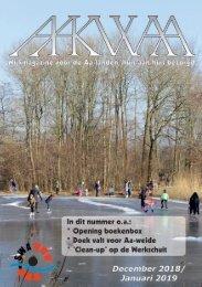 Wijkblad Aakwaa december 2018