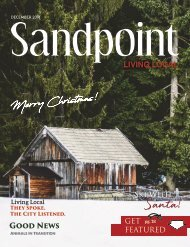December 2018 Sandpoint Living Local