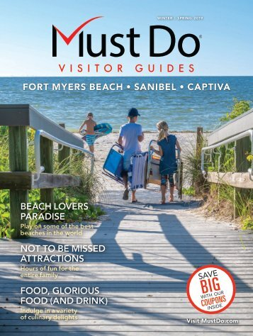 Must Do Fort Myers Sanibel Captiva Winter/Spring 2019 visitor guide