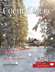 December 2018 Coeur d'Alene Living Local