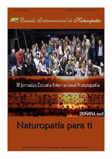 Revista Naturopatia para ti num 27