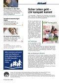 Sicher Leben 6 / 2008 - Die Landwirtschaftliche Sozialversicherung - Seite 2