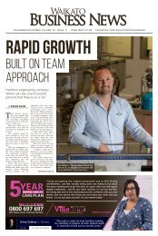 Waikato Business News November/December 2018
